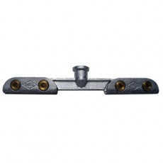 Suspension clamp for contact wire