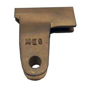Terminal clamp for NO-BO